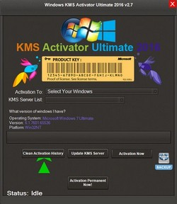 Windows KMS Activator Ultimate 2016 2.8