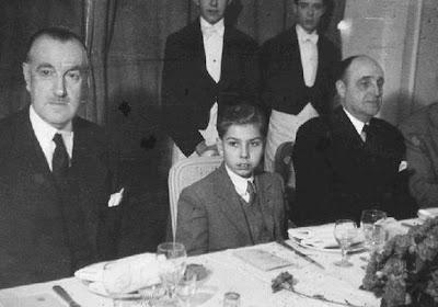 Arturito Pomar junto al marqués de Montecorto (presidente de la FEDA)