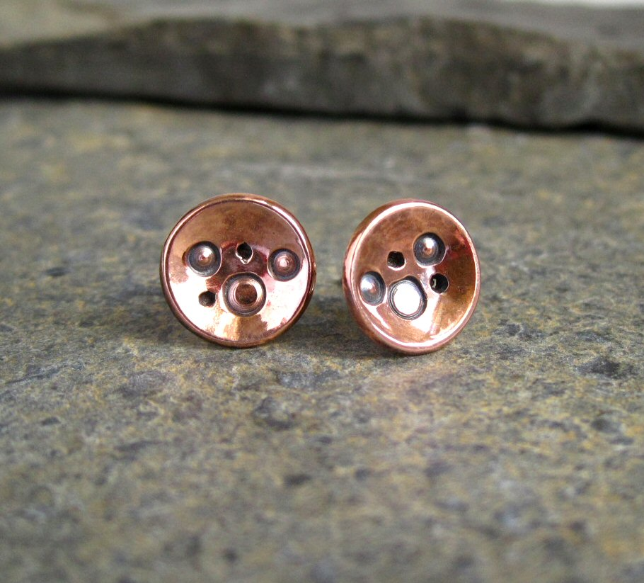 Copper & Sterling Silver
