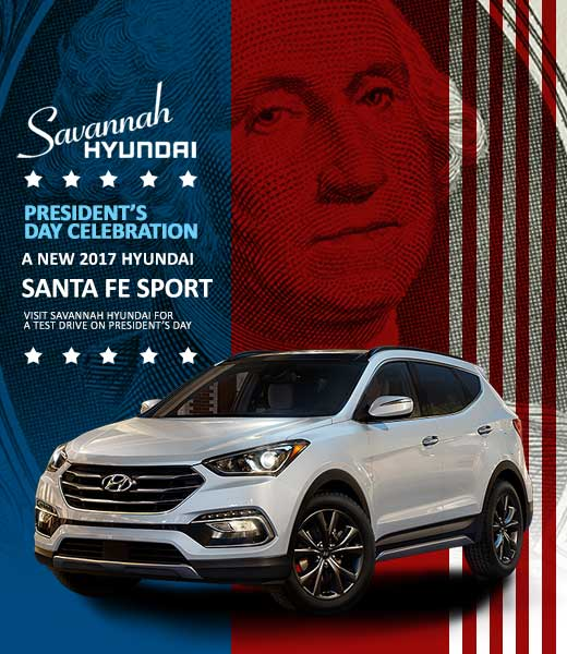 2017 Santa Fe Sport, Savannah Georgia, Georgia Hyundai Dealerships