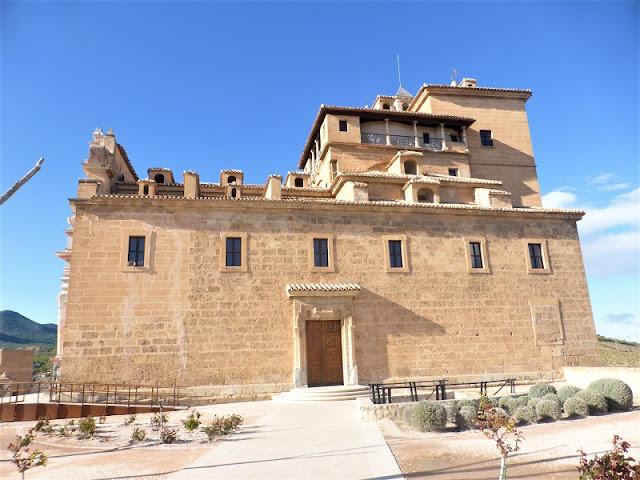 Lateral del Castillo de Caravaca de la Cruz