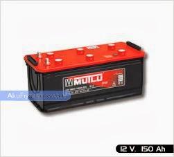 mutlu akü ağır hizmet serisi 12 volt 150 amper