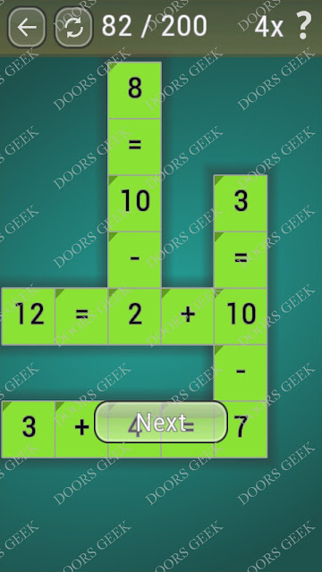 Math Games [Beginner] Level 82 answers, cheats, solution, walkthrough for android