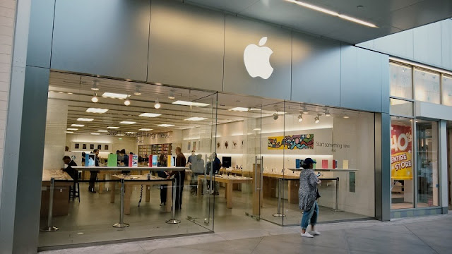Loja Apple no Westfield Century City em Los Angeles