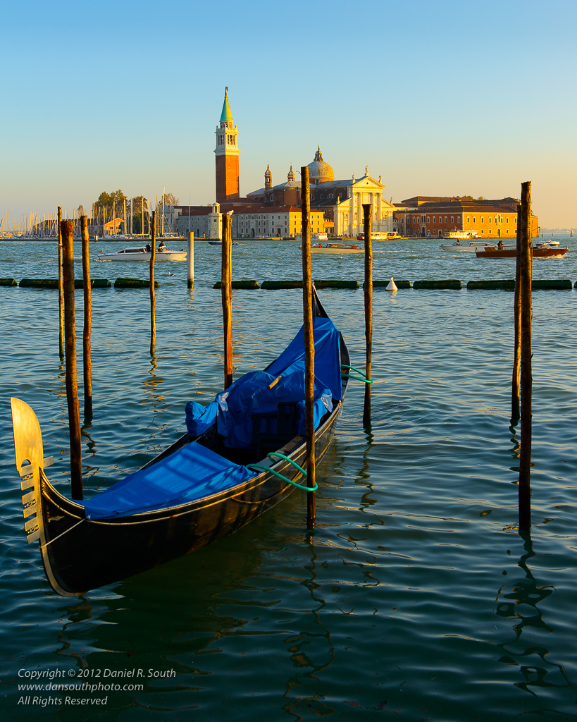 a photo of the view toward san giorgio maggiore venice