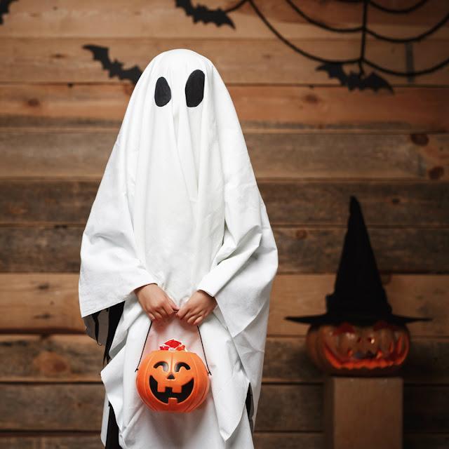 Disfraz casero de Fantasma para niños