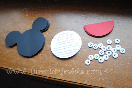 mickey mouse clubhouse diy birthday party invitations tutorial - 432×288