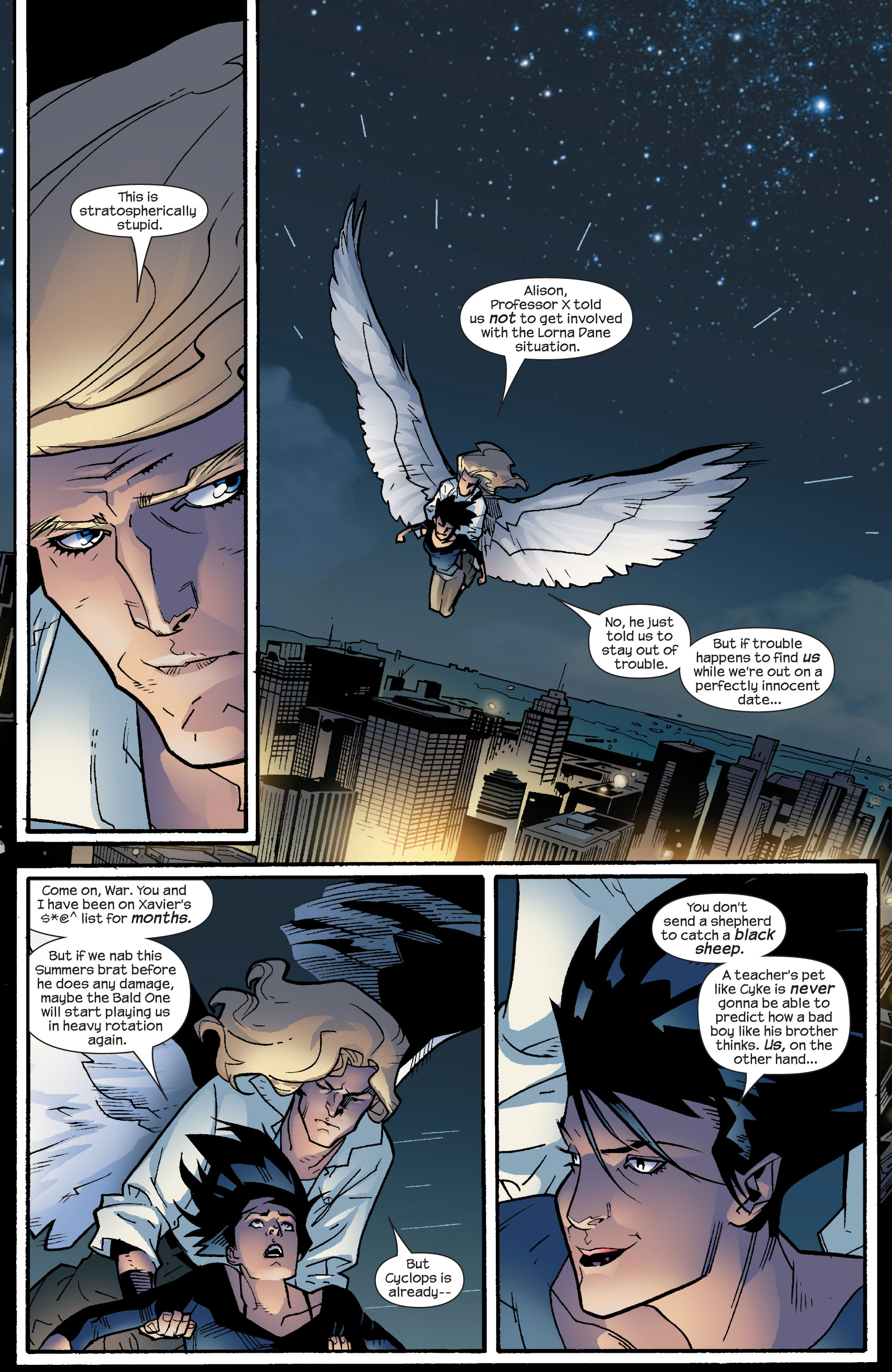 Read online Ultimate X-Men comic -  Issue #63 - 16