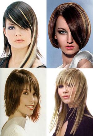 Fotos de tipos de cortes de pelo