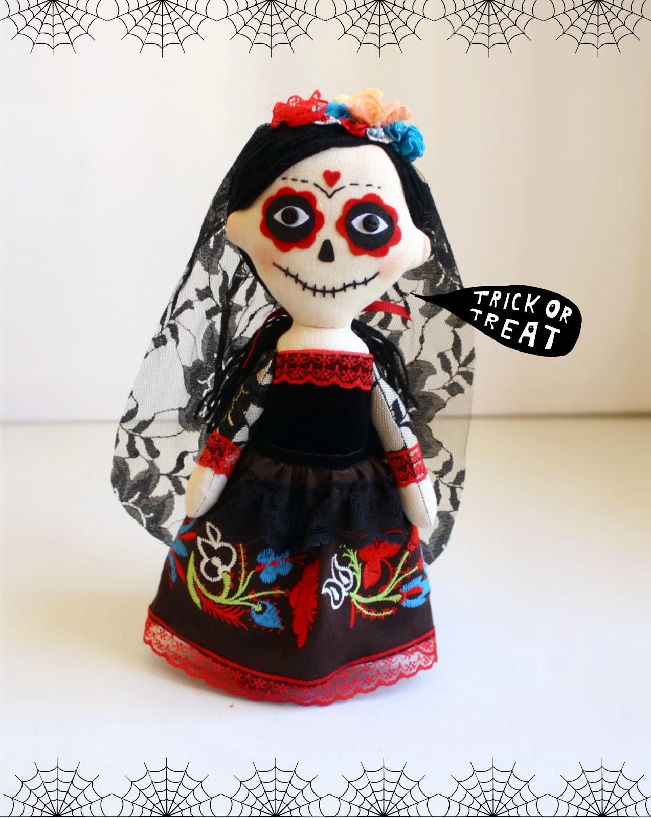 Comprar la muñeca Catrina. Trick or treat! Halloween