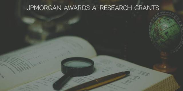 JPMorgan Awards AI Research Grants