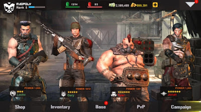 Dead Warfare Zombie Mod Apk Data Terbaru