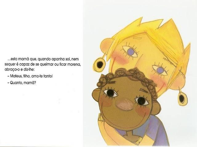 Livro As Cores de Mateus