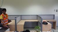 produksi Meja Sekat Kantor Bentuk T di jawa tengah