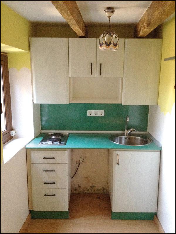 El antes y el despu s de un atico de 20m cocochicdeco - Restaurar cocina ...