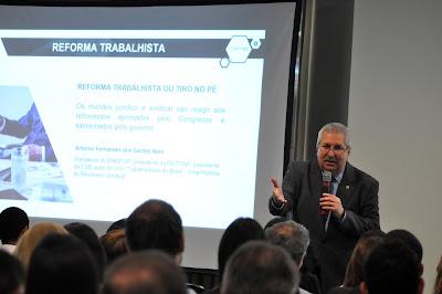 """""""Reforma trabalhista irá aumentar ações na justiça"""", afirma Neto a empresários"""