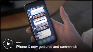 Pelajari semua gerakan dan perintah sentuhan baru di iPhone X