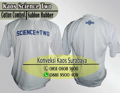 kaos oblong sablon rubber