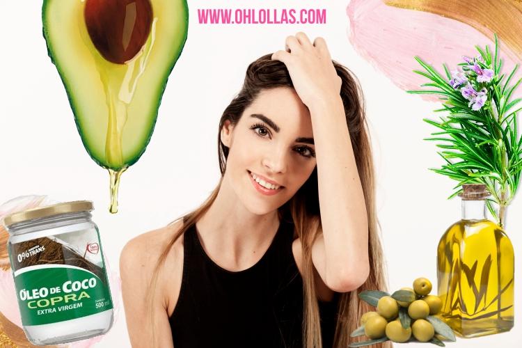 Os sete melhores óleos vegetais para cabelos longos e fortes.