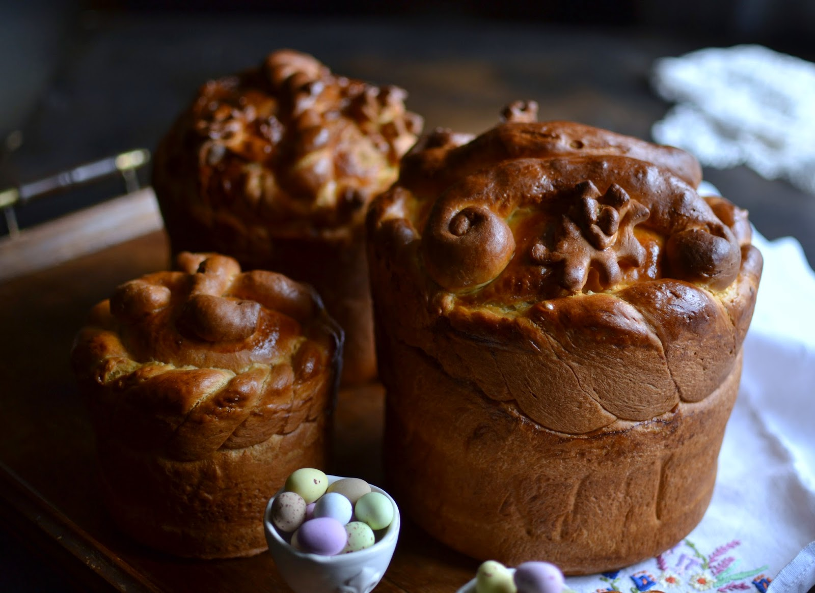 Ukrainian Easter Paska A Kingdom For A Cake