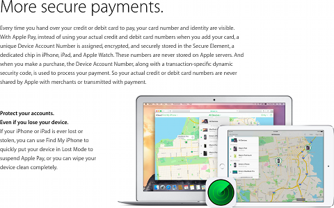 Apple Pay - More Secure Payments