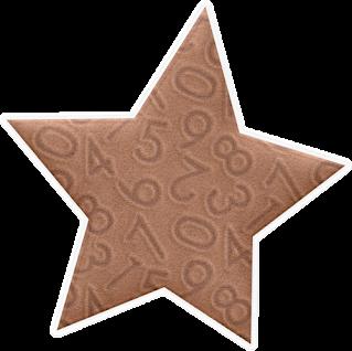 Estrellas del Clipart de Ositos en el Cole.