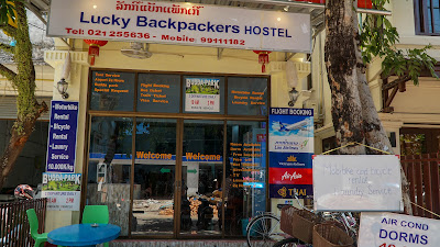 Lucky Backpackers Hostel in Vientiane