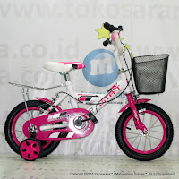 12 Vita-T Classic Kids Bike + Basket