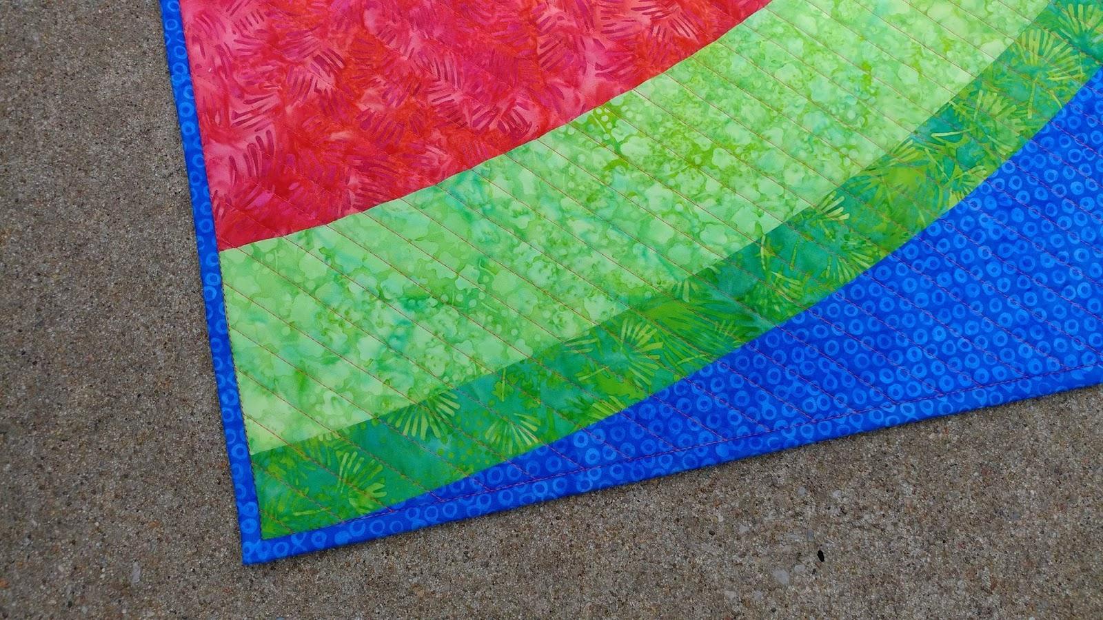 Slice Of Summer Quilt Pattern Pieced TE