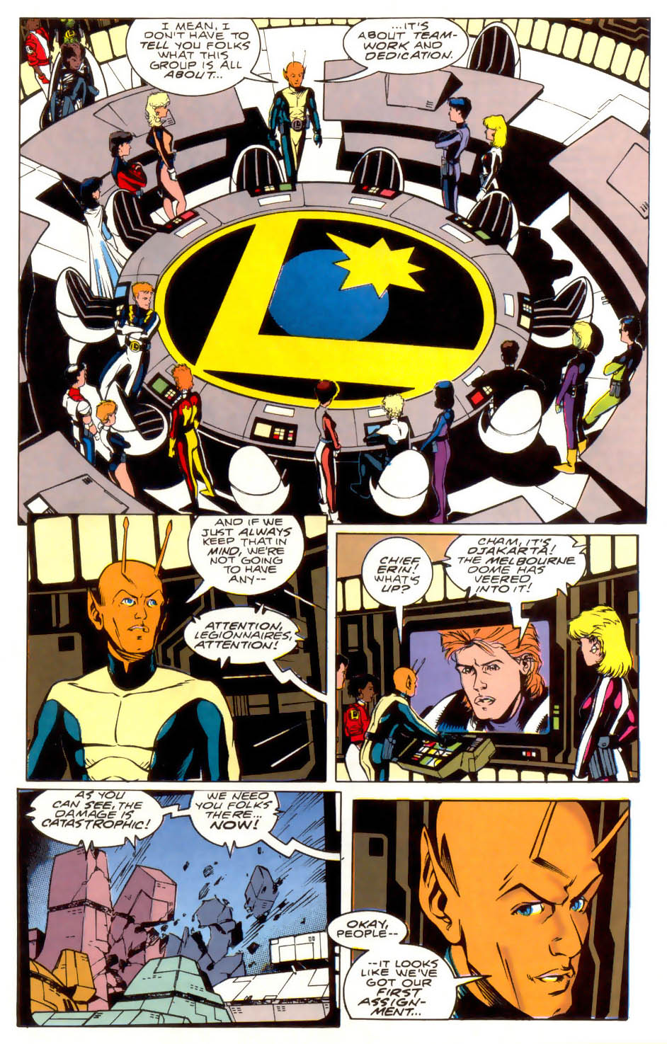 Legion of Super-Heroes (1989) 41 Page 23