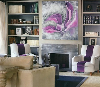 Beige and purple, a beautiful combination 5