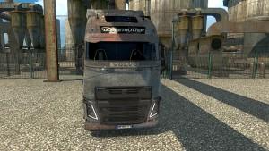 Rusty Volvo 2013 skin mod