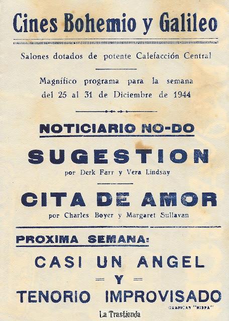 Cita de Amor - Programa de Cine - Charles Boyer - Margaret Sullavan