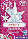 My Little Pony Wave 16 Minuette Blind Bag Card