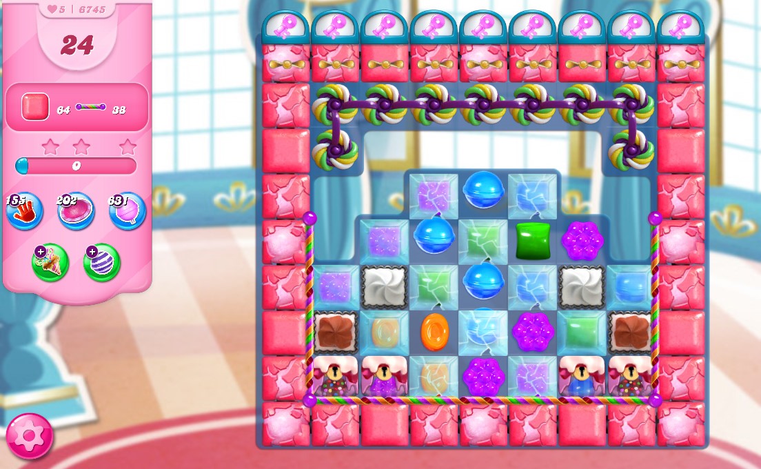 Candy Crush Saga level 6745