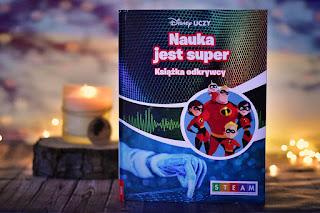 """""""Disney Uczy. Nauka jest super. Książka odkrywcy"""" książki dla dzieci #42"""