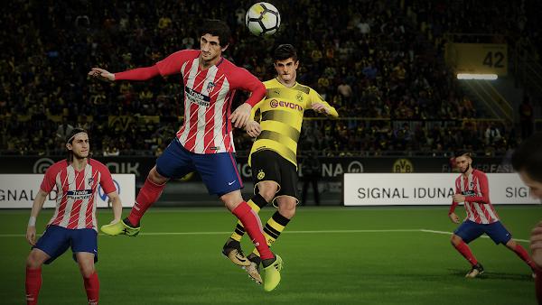 Pro Evolution Soccer 2018 [PES 2018] (USA) PS3 ISO Screenshots #5