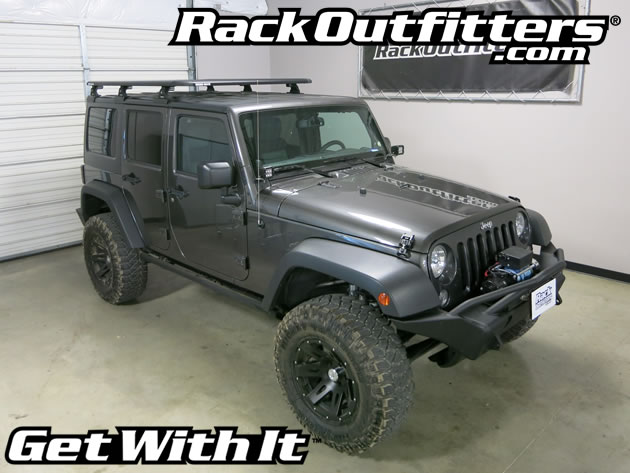 Rack Outfitters Jeep Wrangler Unlimited Rhino Rack