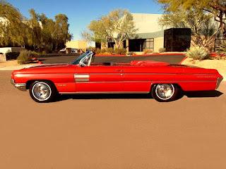 1962 Oldsmobile 98 Luxury Convertible Side Left