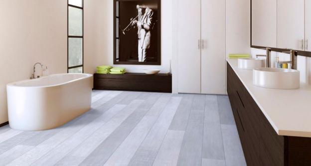 Laminate Flooring In Bathroom