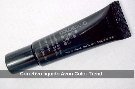 Corretivo Líquido Avon Color Trend