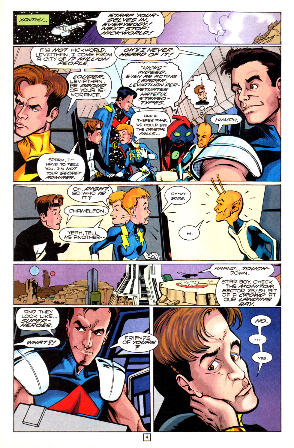 Legion of Super-Heroes (1989) 82 Page 4
