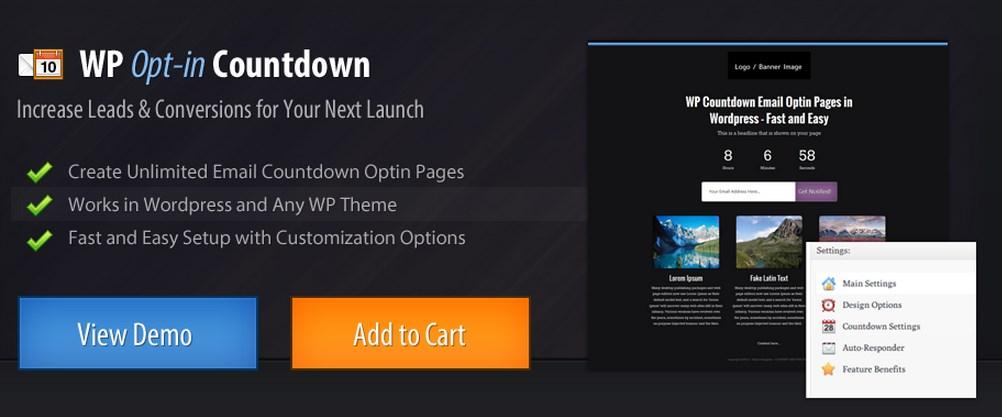 DOWNLOAD] WP Opt-In Countdown PLUGIN