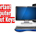 Important Computer Shortcut Keys in MS Word, Excel, Outlook and more