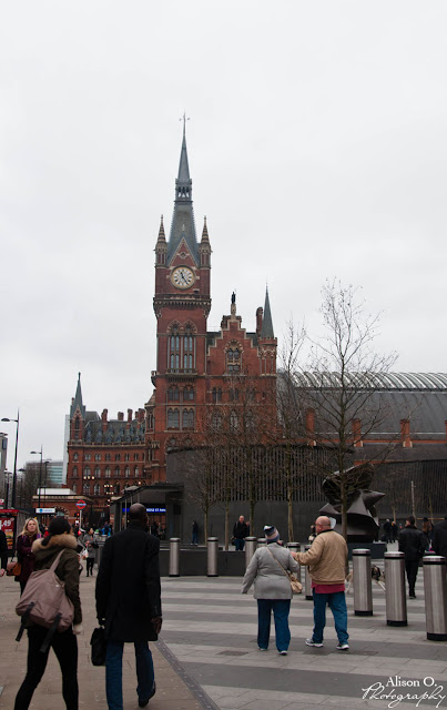 Citytrip Londres London weekend St Pancras