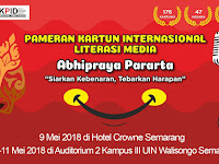 List of Participants International Cartoon Exhibition on Media Literacy 2018, Indonesia