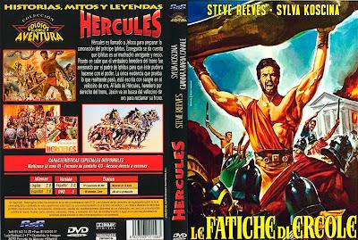 Hércules » 1958 » Carátula » Le fatiche di Ercole (Labors of Hercules) / Descargar / Película