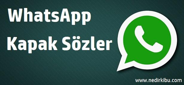 WhatsApp Laf Sokan Mesajlar, WhatsApp Kapak Sözleri, WhatsApp Durum Mesajları