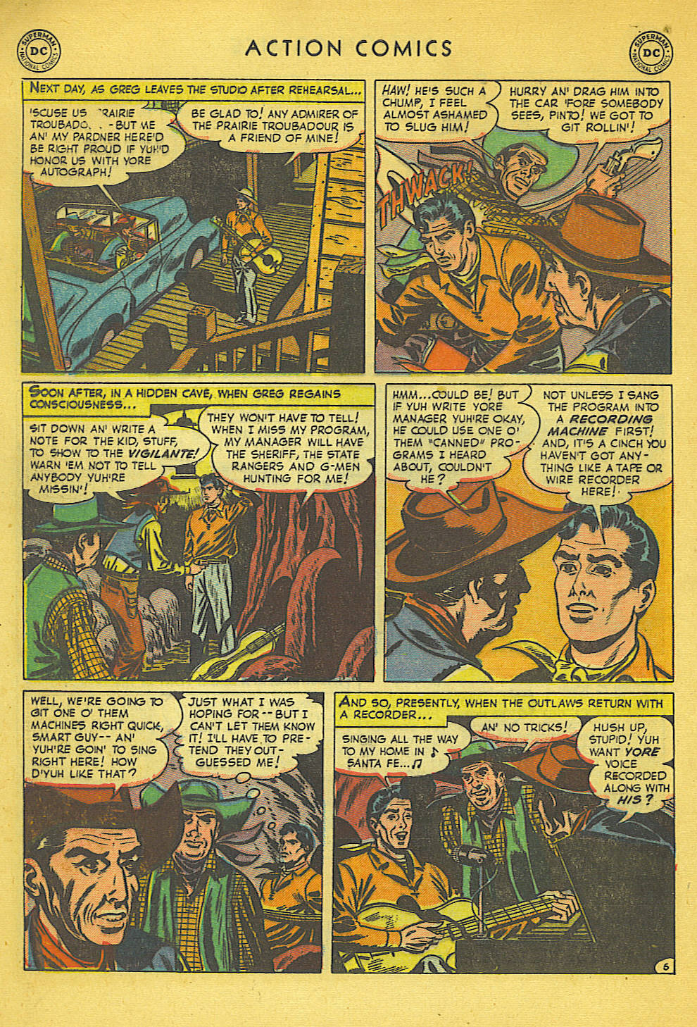 Read online Action Comics (1938) comic -  Issue #158 - 41