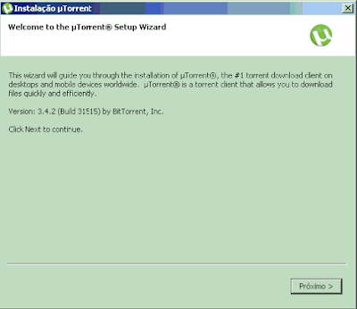 Como fazer download uTorrent